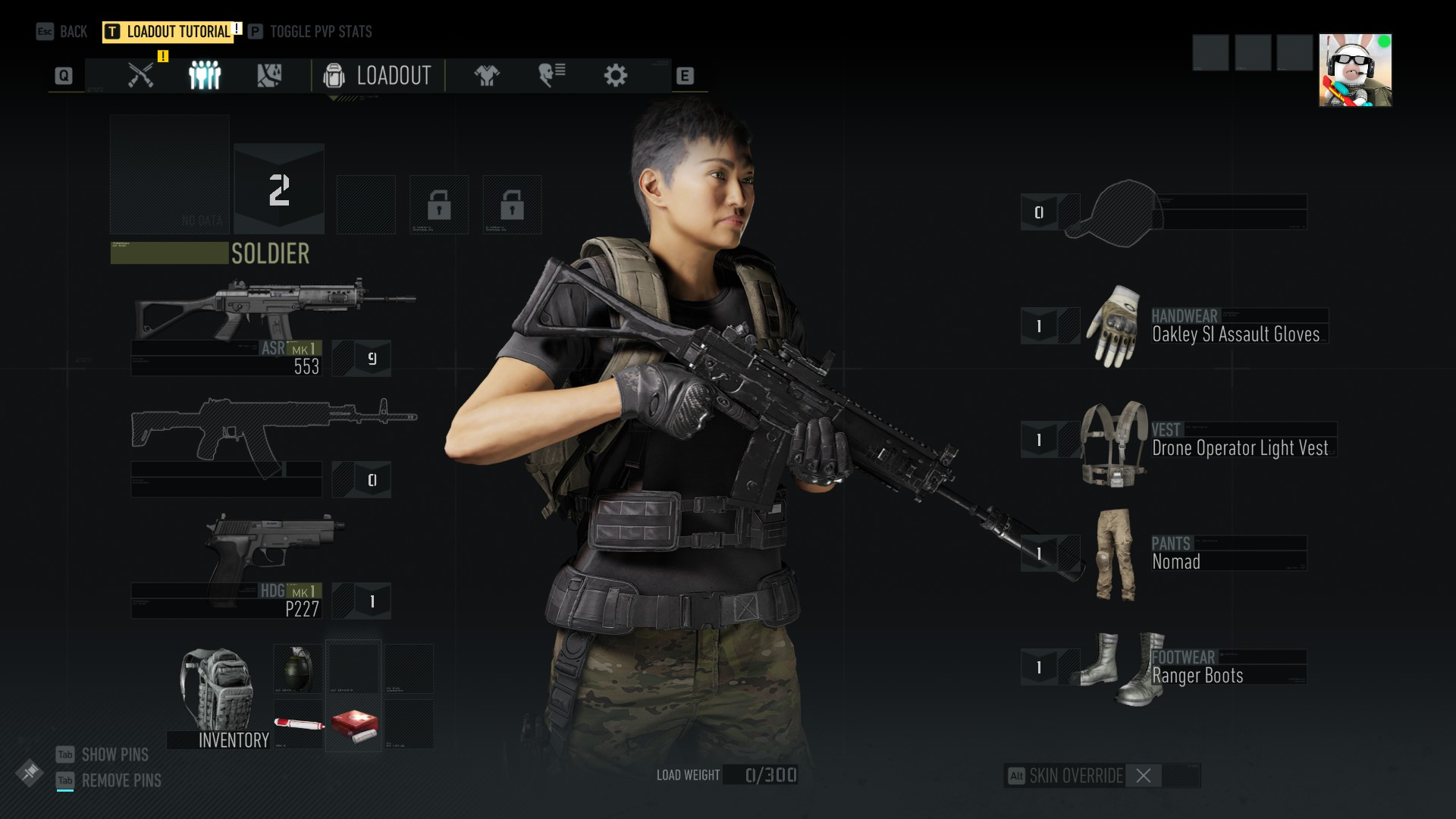 Ghost Recon breakpoint inventory
