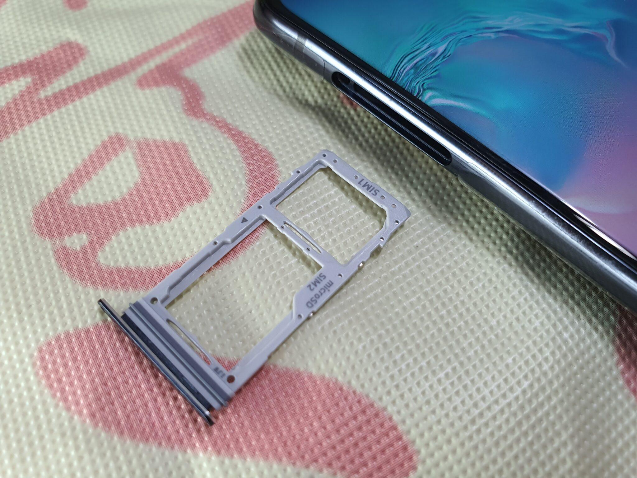 Galaxy S10 Lite SIM card