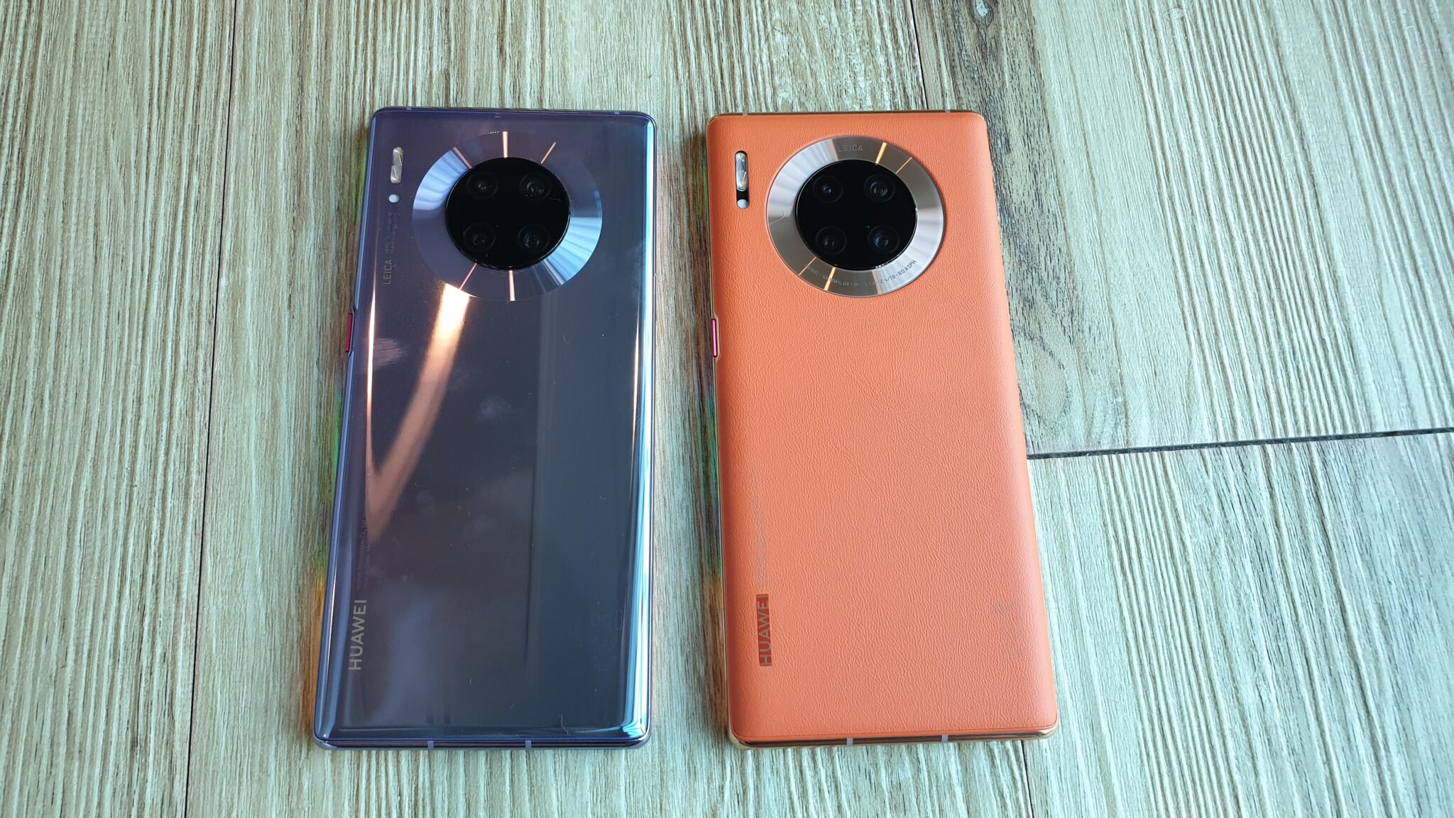 Mate 30 Pro side by side