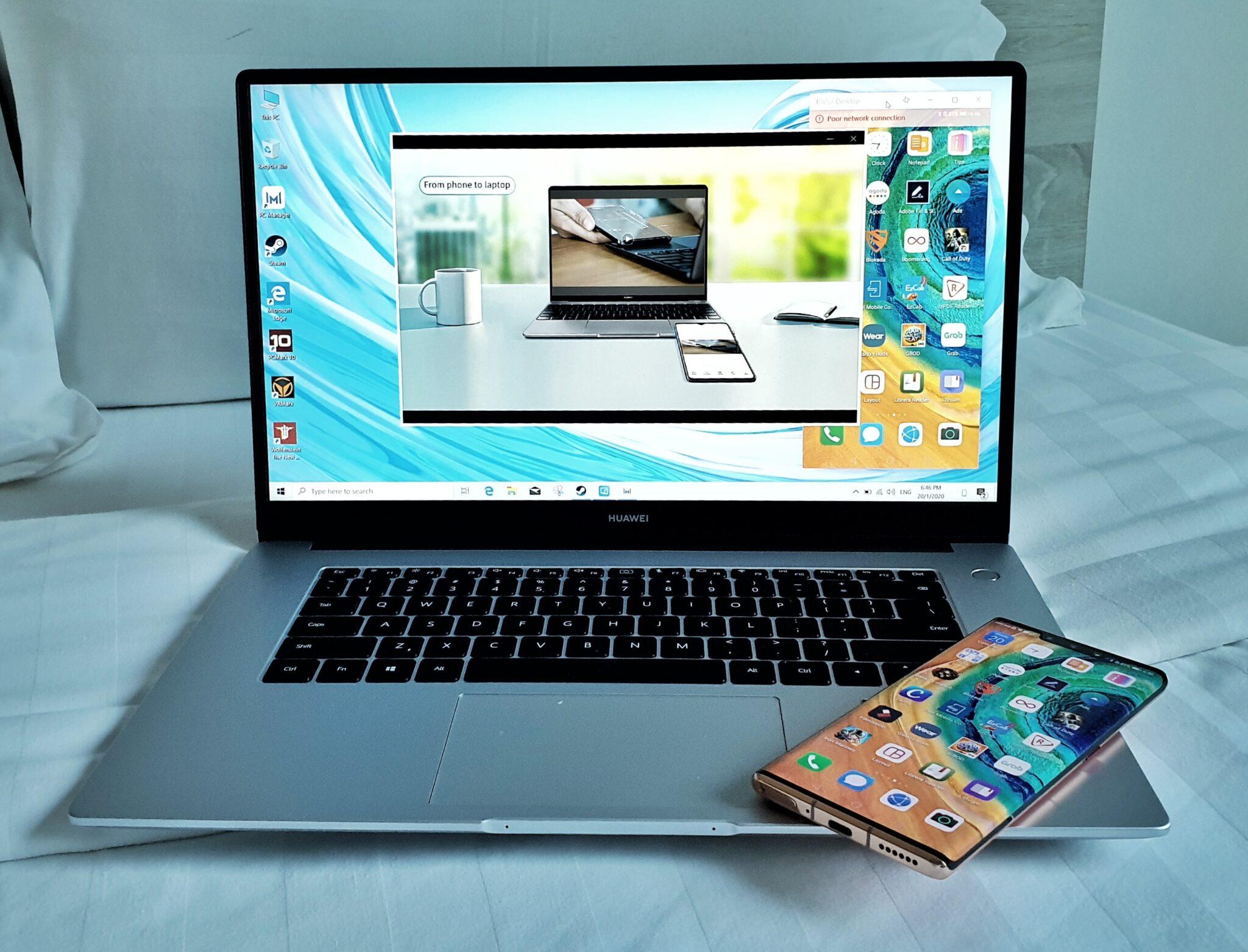 Matebook d 15 multiscreen