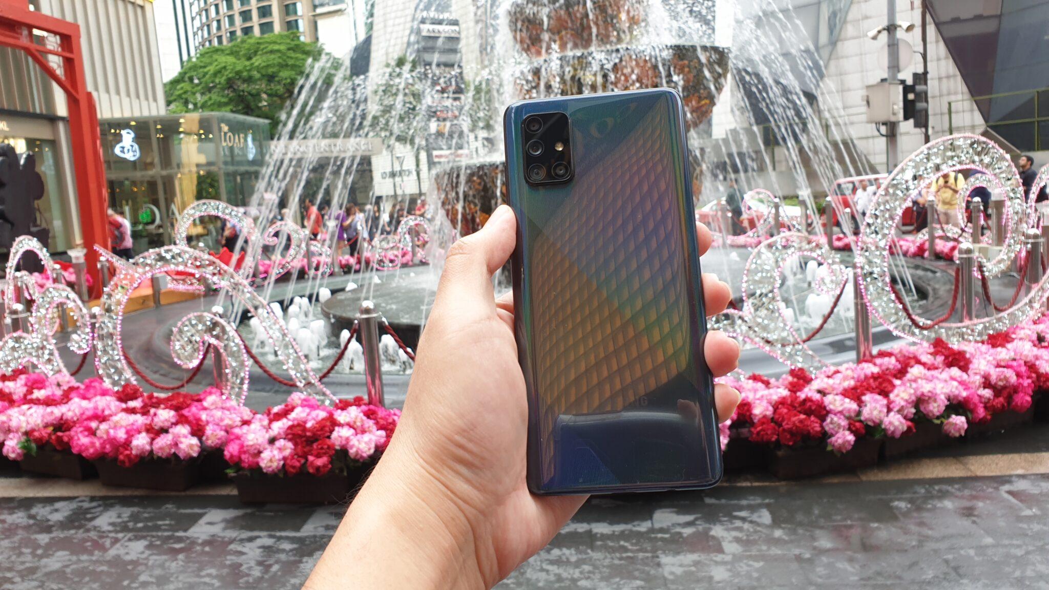 Galaxy A71 backplate