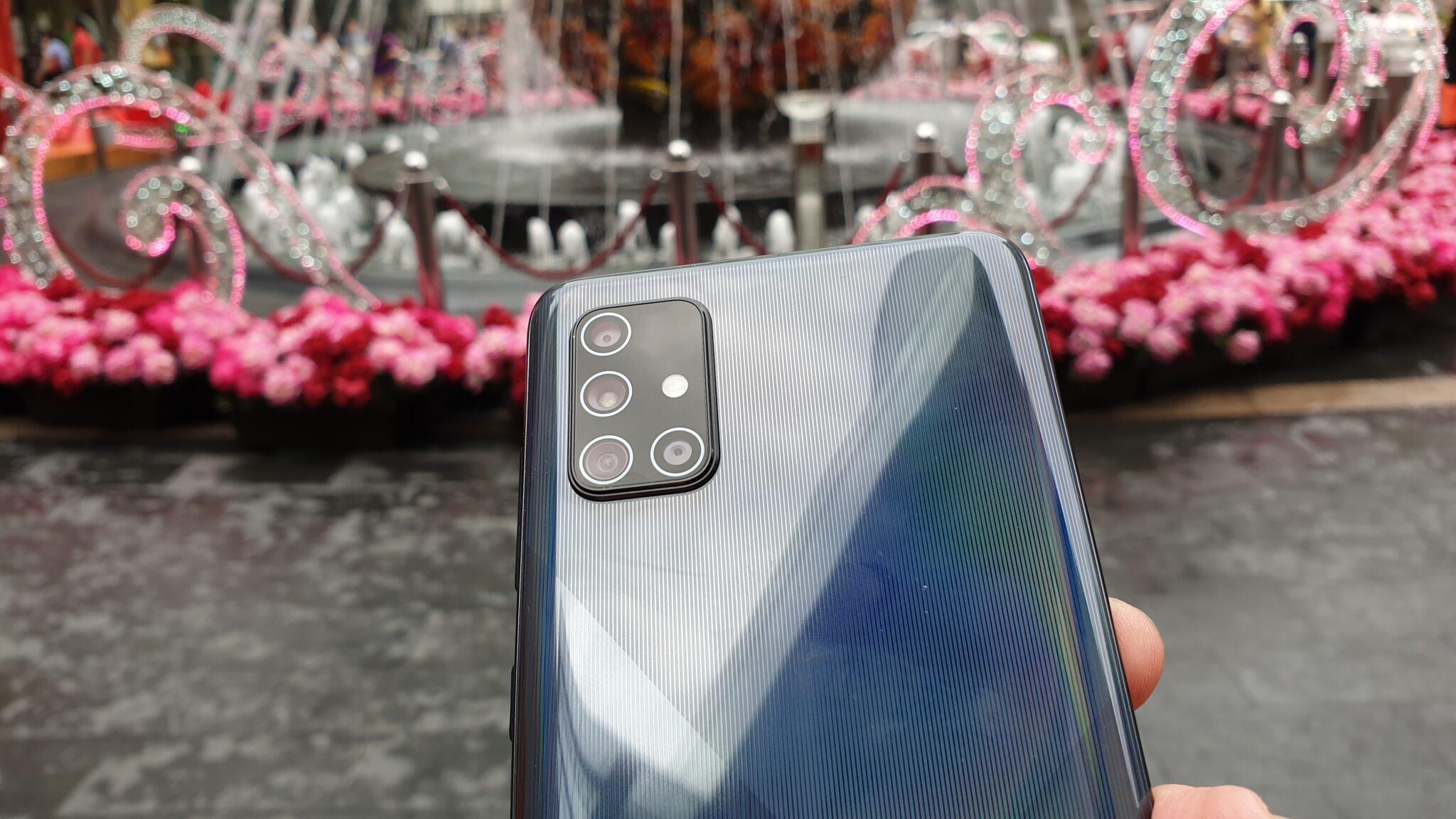 Galaxy A71 rear camera