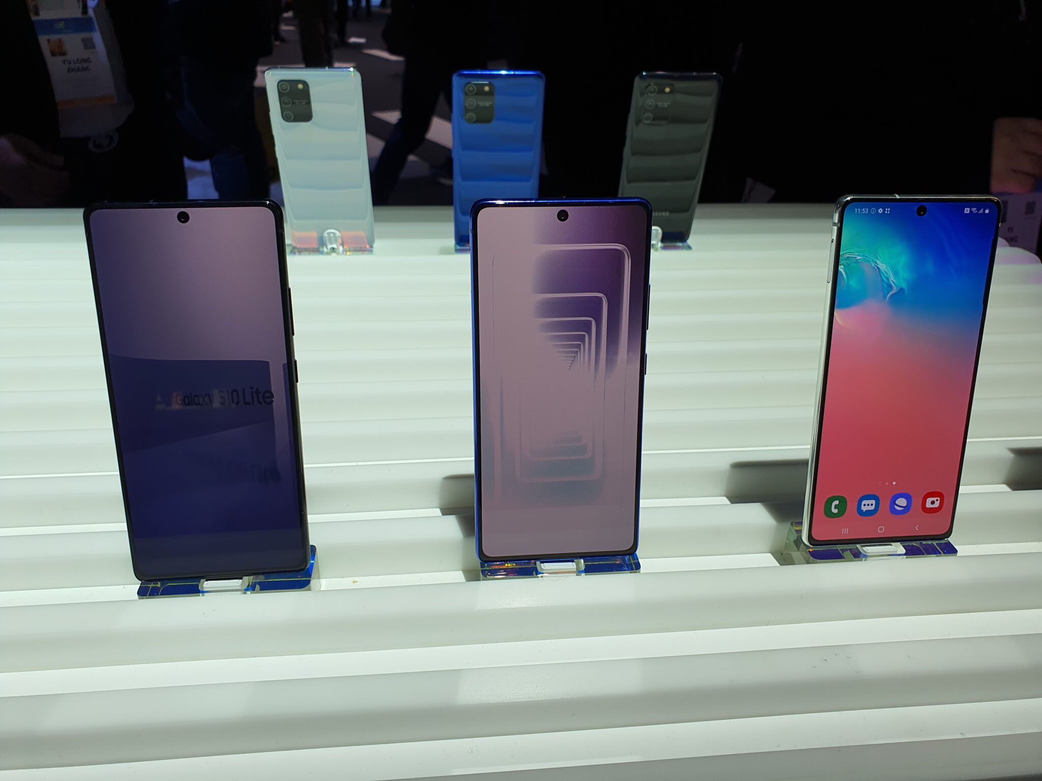 Note10 Lite and S10 Lite front
