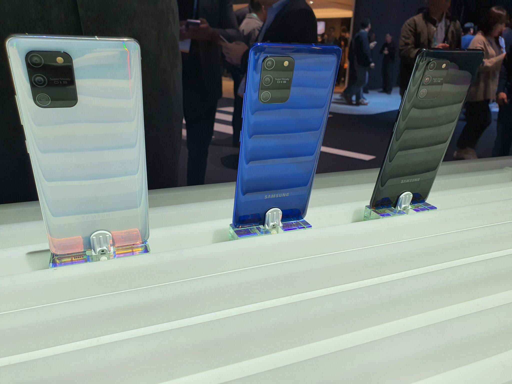 Galaxy S10 Lite colour options