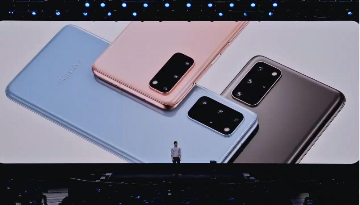 Galaxy S20 colours