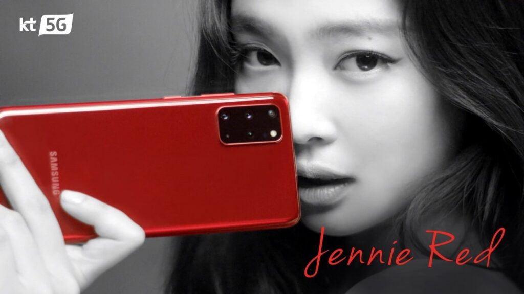 Samsung Galaxy S20+ and Galaxy Buds+ now comes in awesome shade of Jennie Red 1