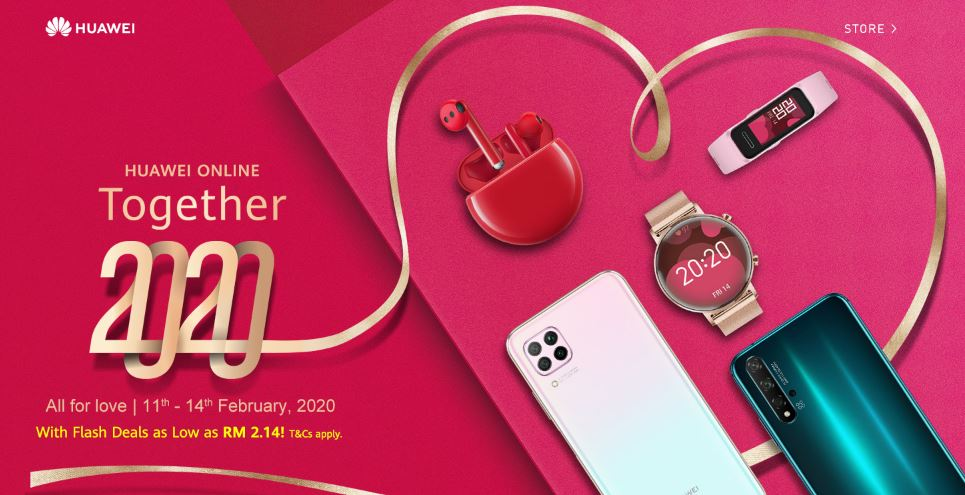 Huawei Nova 7i priced at RM1,099 with free Band 4 for Valentine's Day preorders 1