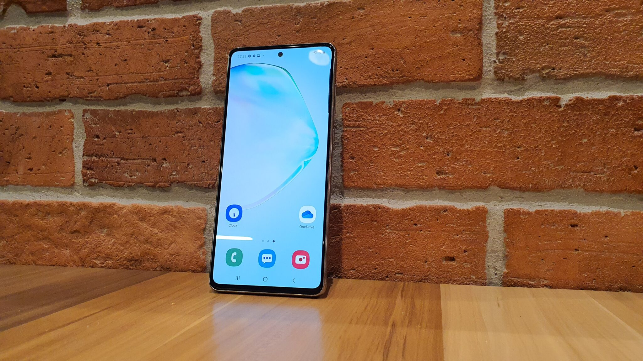 Galaxy Note10 Lite front