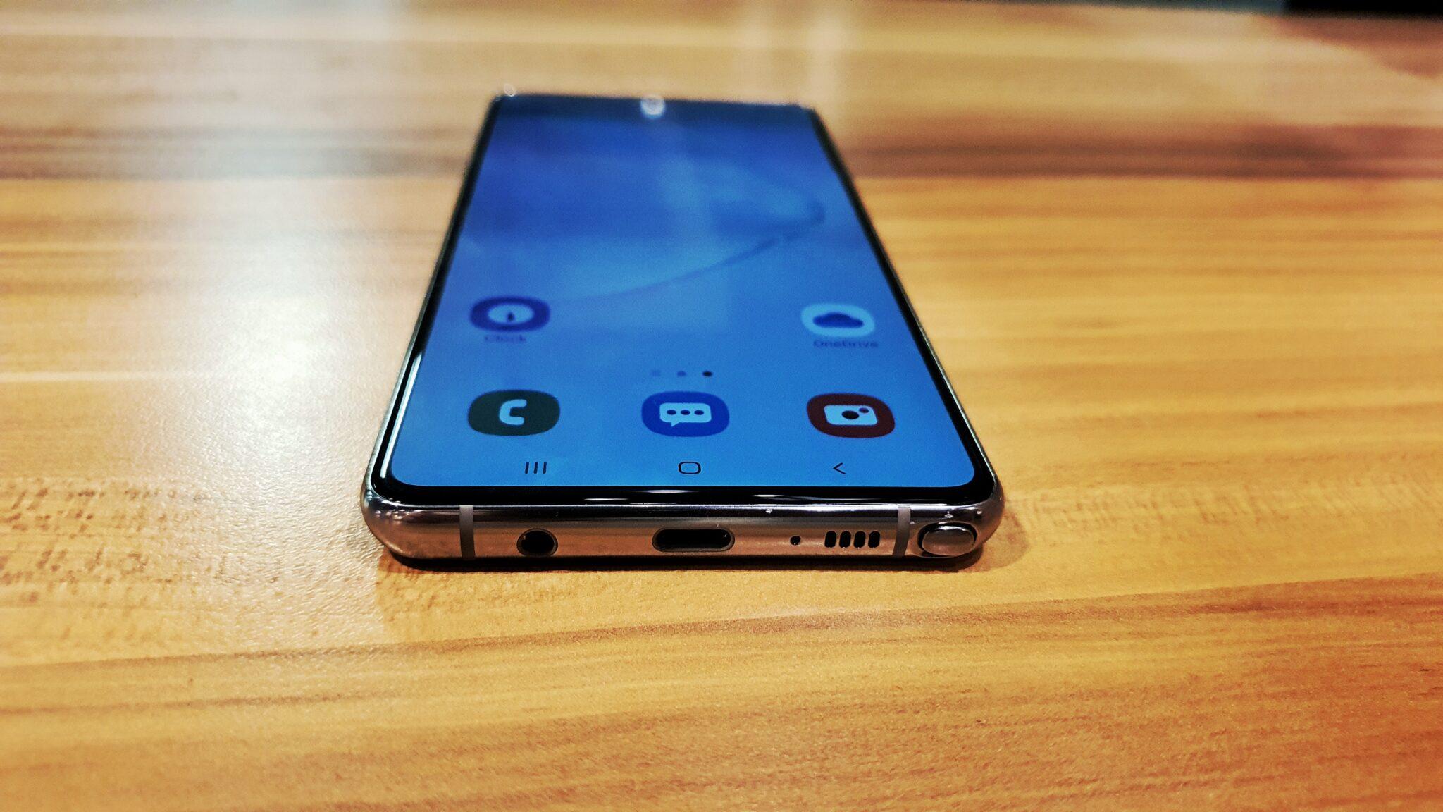 Galaxy Note10 Lite audio jack