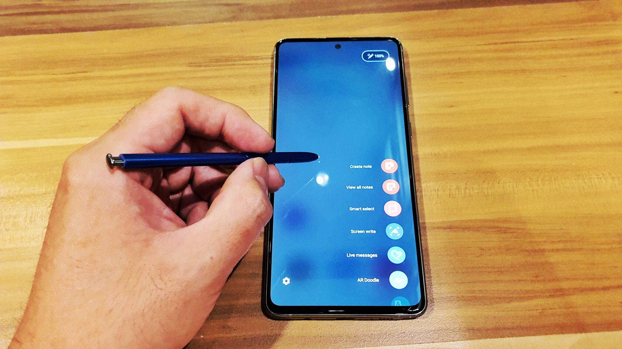 Galaxy Note10 Lite S Pen