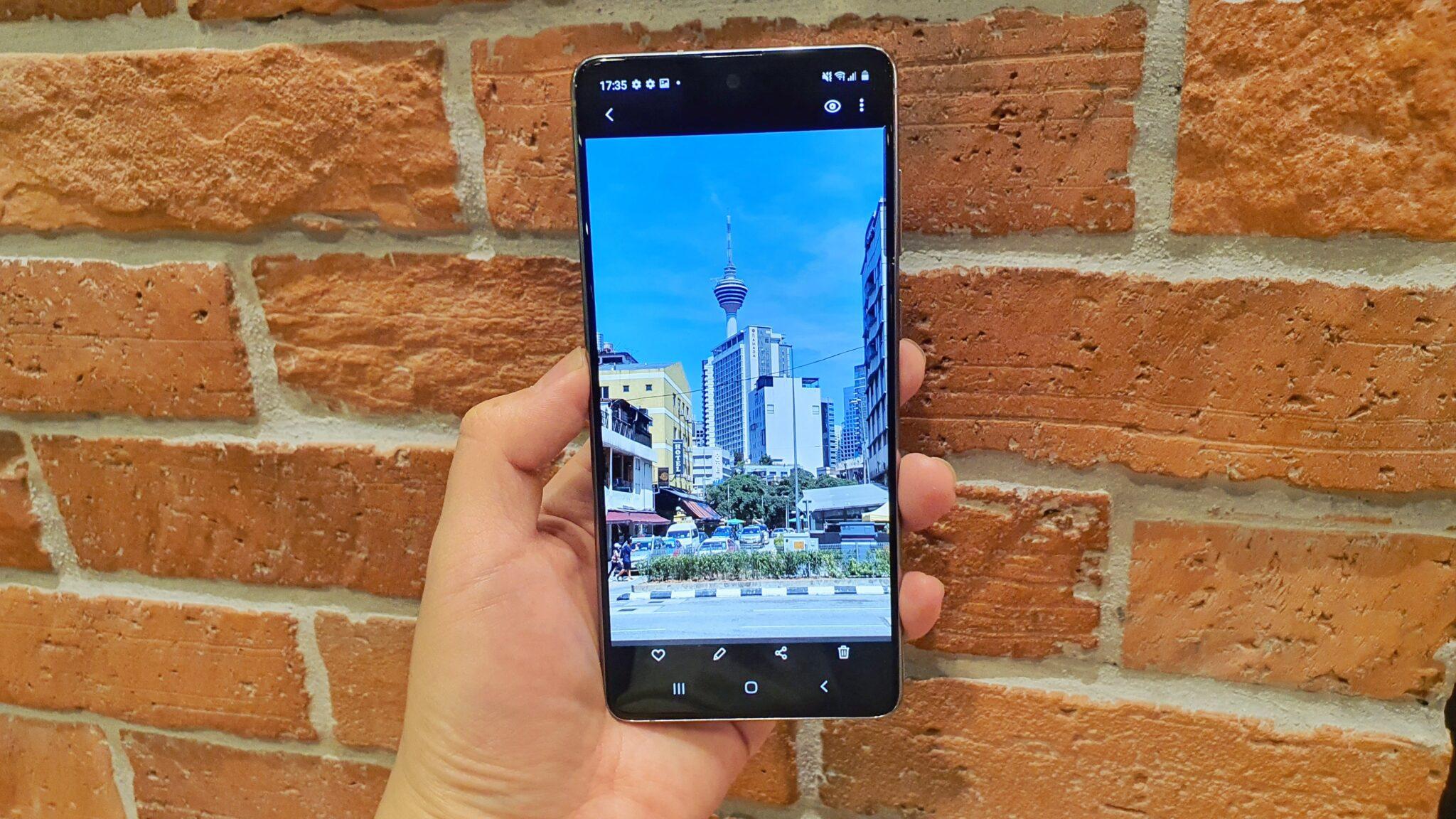 Galaxy Note10 Lite camera