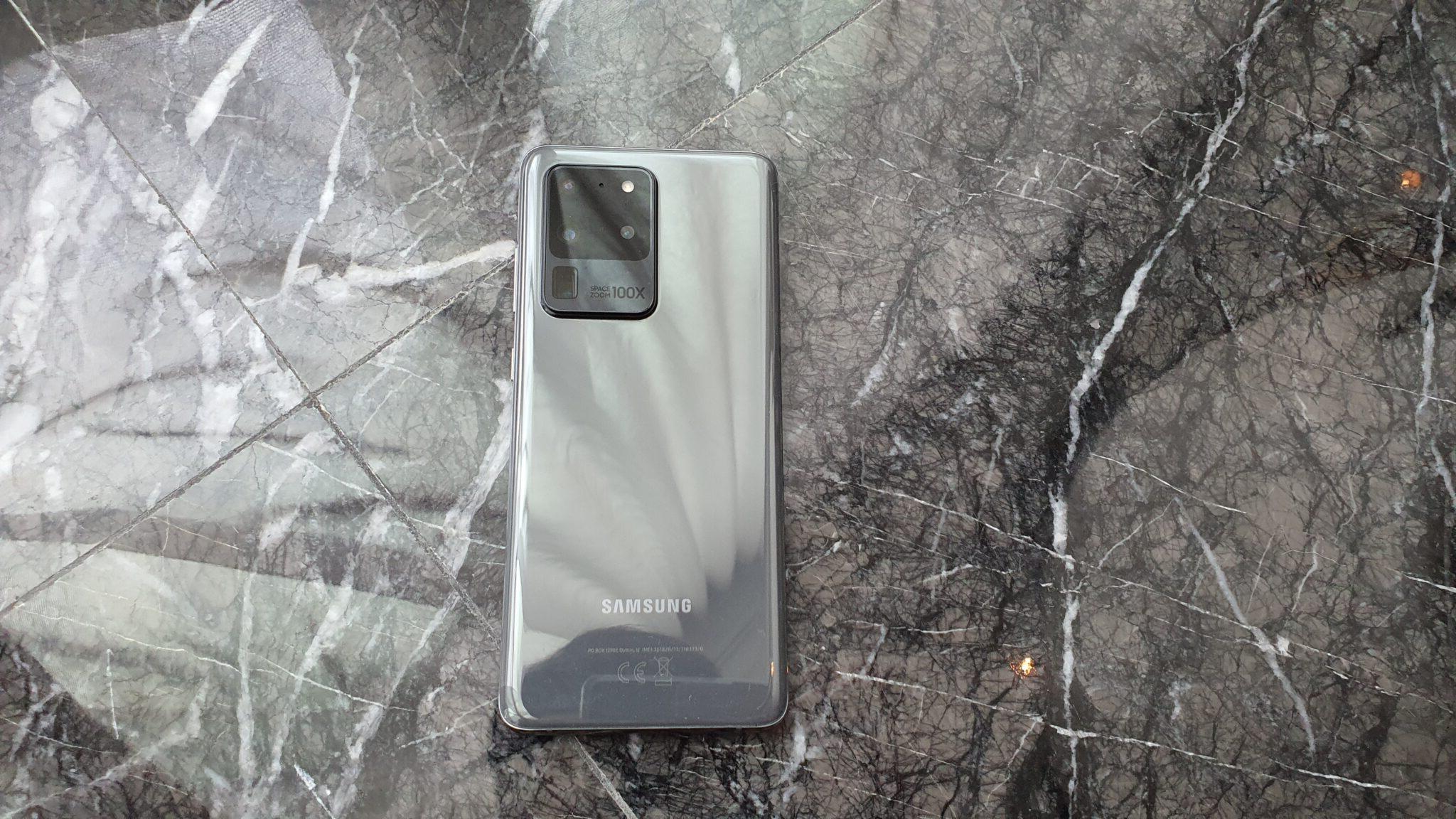 Galaxy S20 Ultra rear