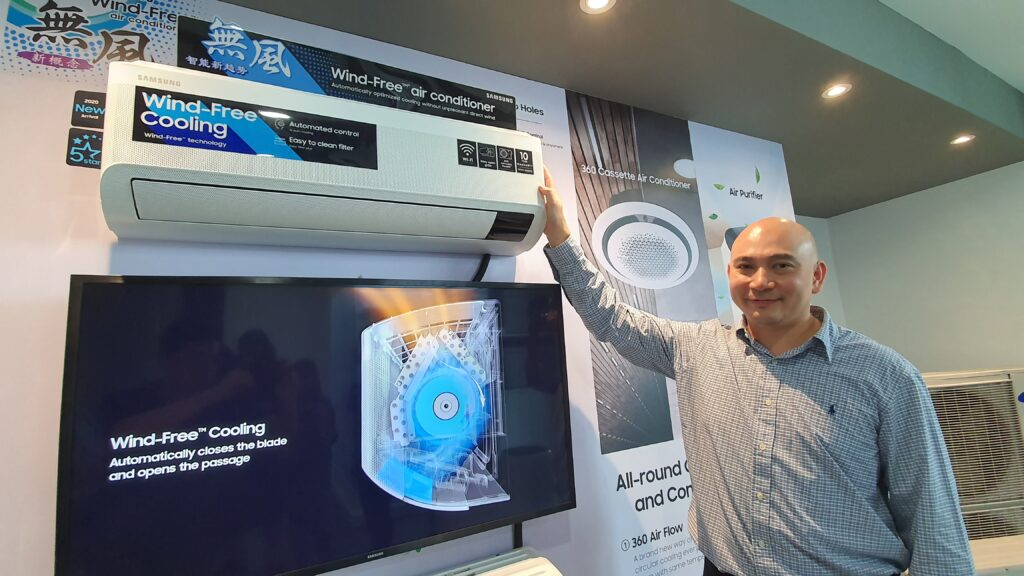 Samsung AR9500T Wind-Free air conditioner sports powerful 3-step Cooling Mode and AI 2