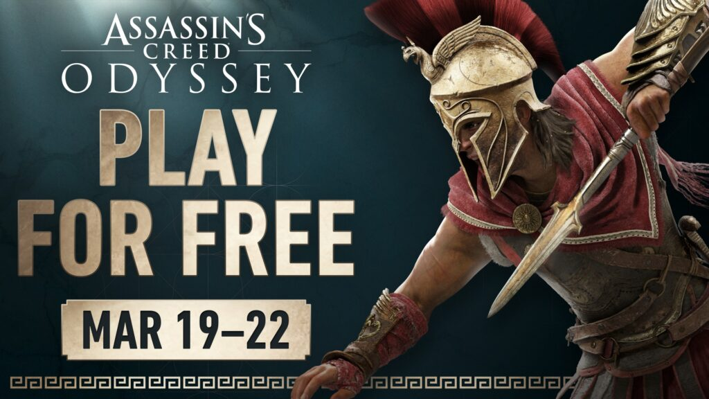 Stuck at home? Assassin's Creed Odyssey is free this weekend 3
