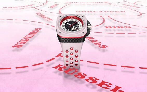 The Fastback Trufflehunter timepiece from Gorilla is a looker that's pretty in pink 3