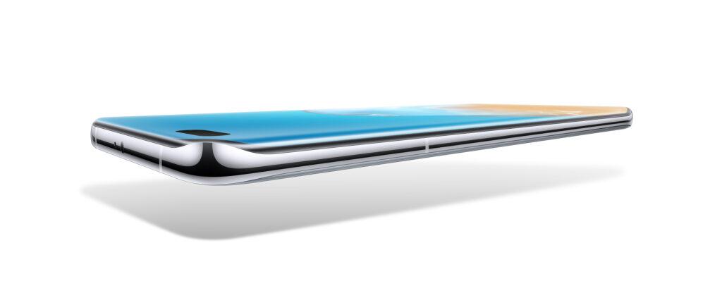 Huawei P40 Quad-curve display