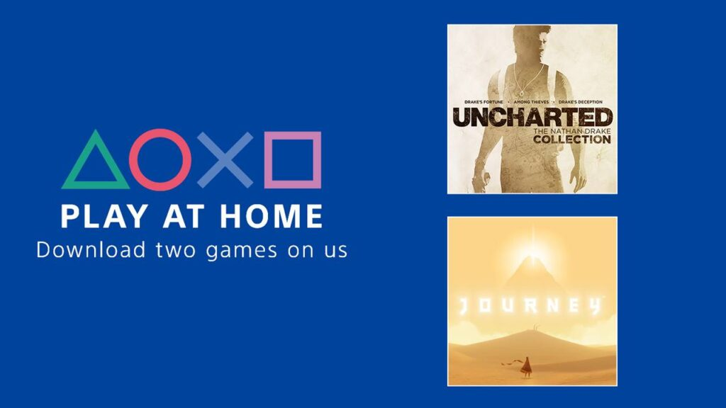 Sony is giving away 2 top tier games for Play At Home initiative 1