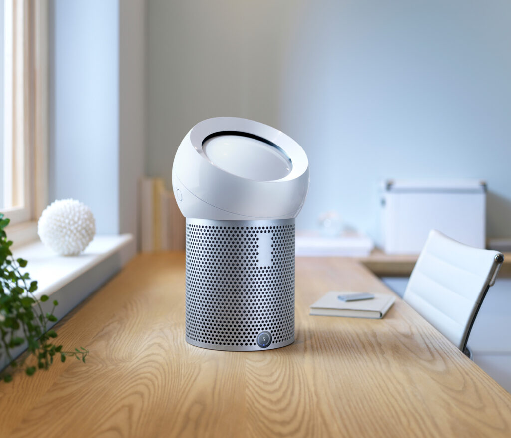 Working from Home Dyson Pure Cool Me