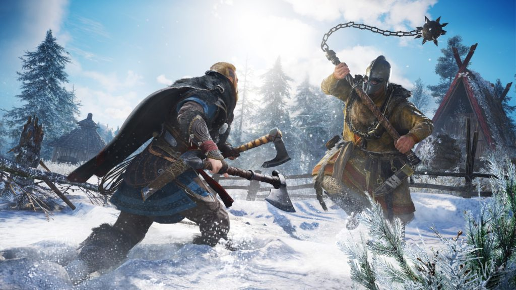 Assassin's Creed Valhalla announced with you as a rocking VIking raider 1