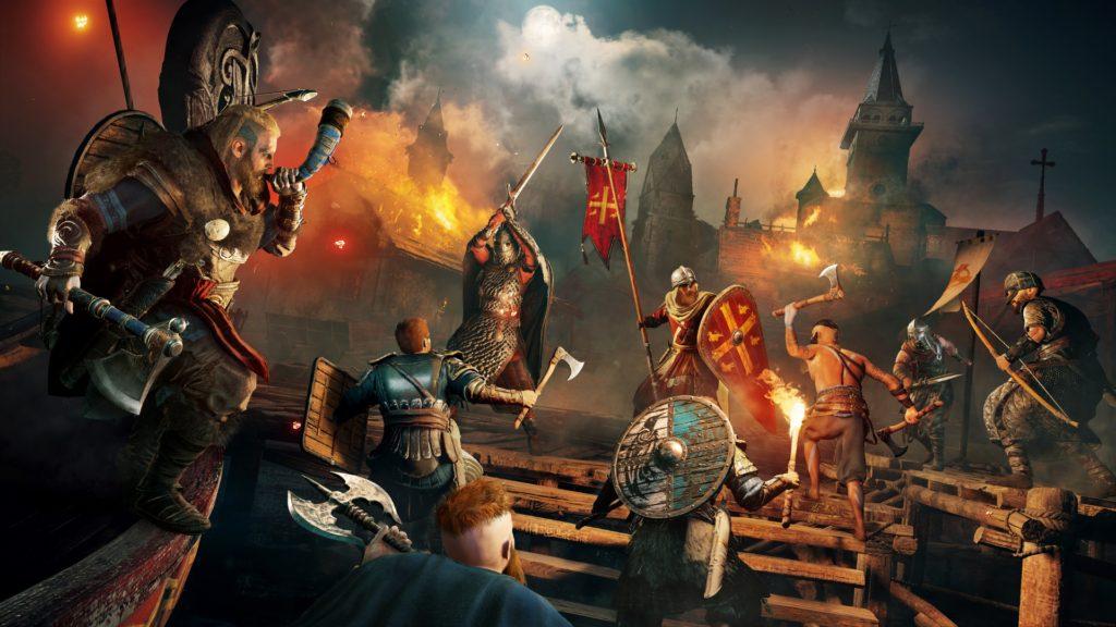Assassin's Creed Valhalla battle