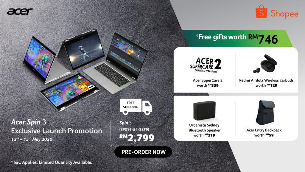 Acer Spin 3 i5