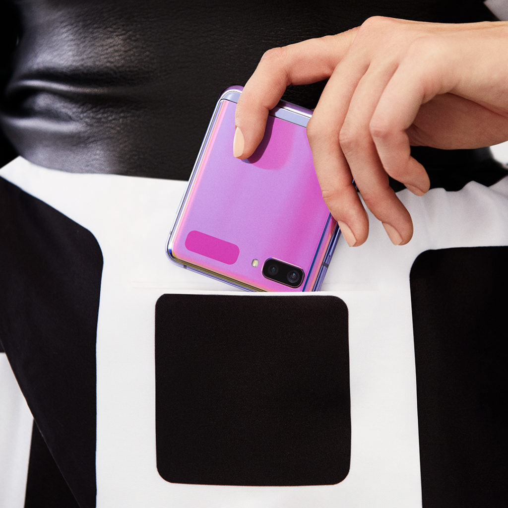 Galaxy Z Flip foldable