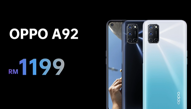 OPPO A92 price