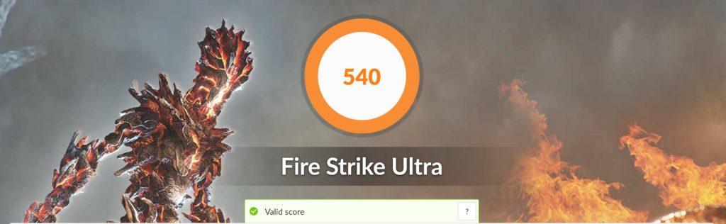 XPS 13 9300 fire strike ultra