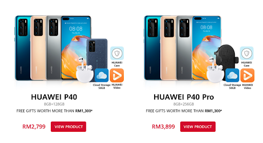 Last Call for Huawei P40, GT 2e watch and MatePad Pro with free preorder gifts 3