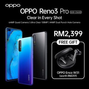 OPPO Reno3 Pro price