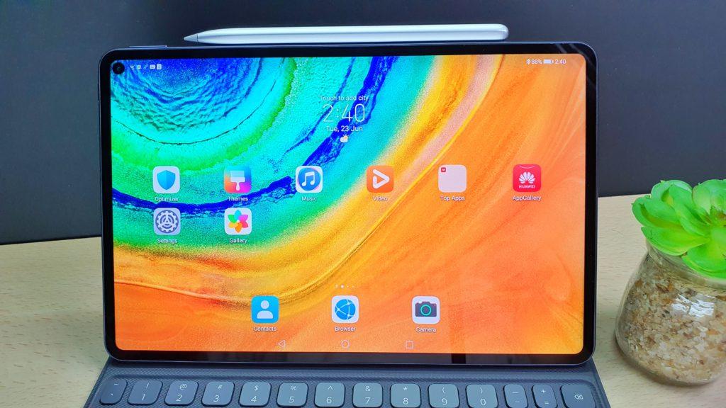 MAtePad pro review close up