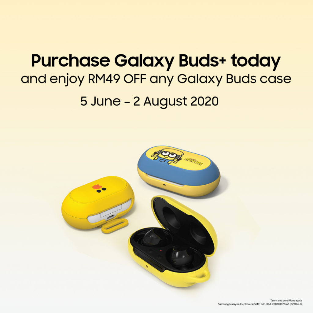 Galaxy Buds+ case