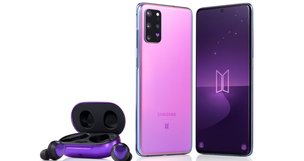 Samsung Galaxy S20 Plus BTS Edition and Galaxy Buds Plus in cool purple colourway up for preorders 2