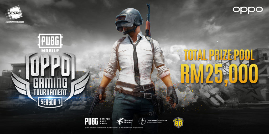 Lock and load as PUBG eSports tournament with OPPO, ESPL and Digi offers RM25,000 in prizes 1