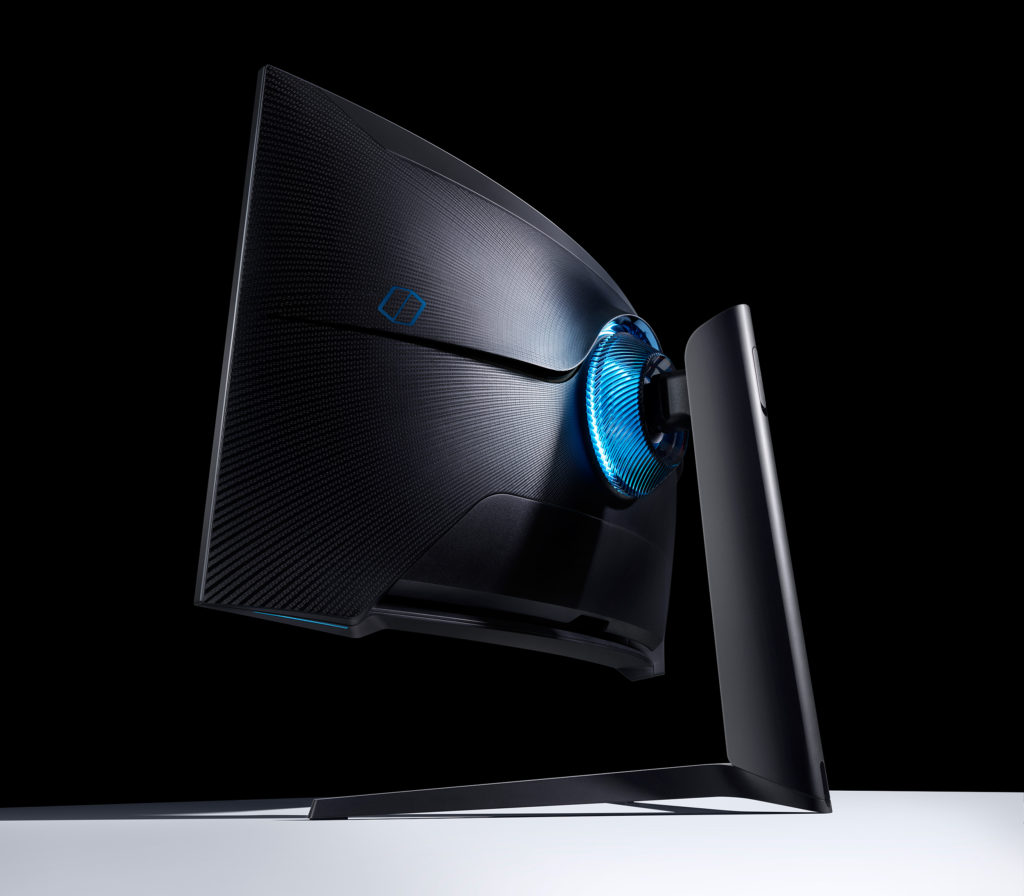 Samsung Odyssey G7 rear blue light
