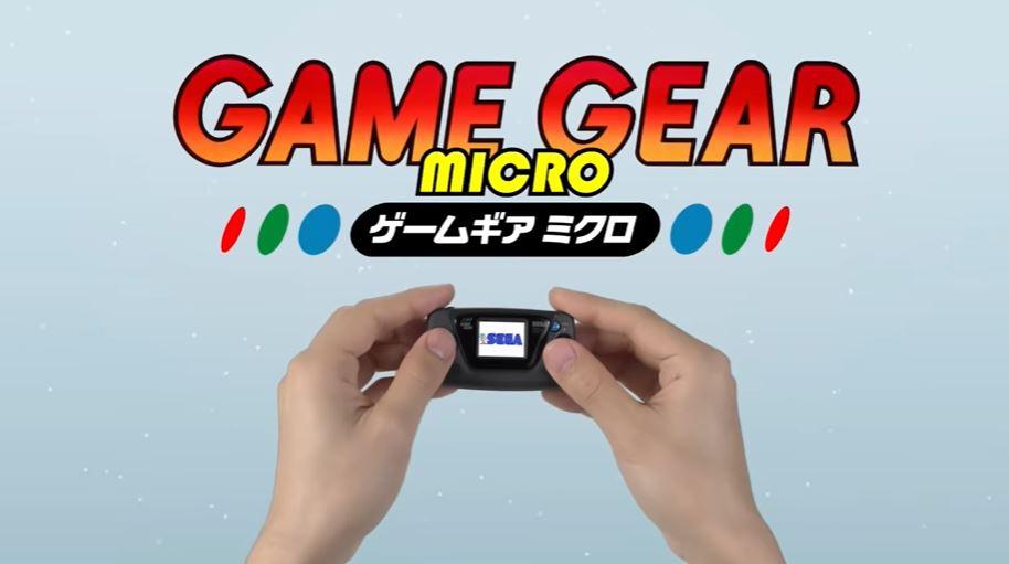 Sega Game Gear Micro intro