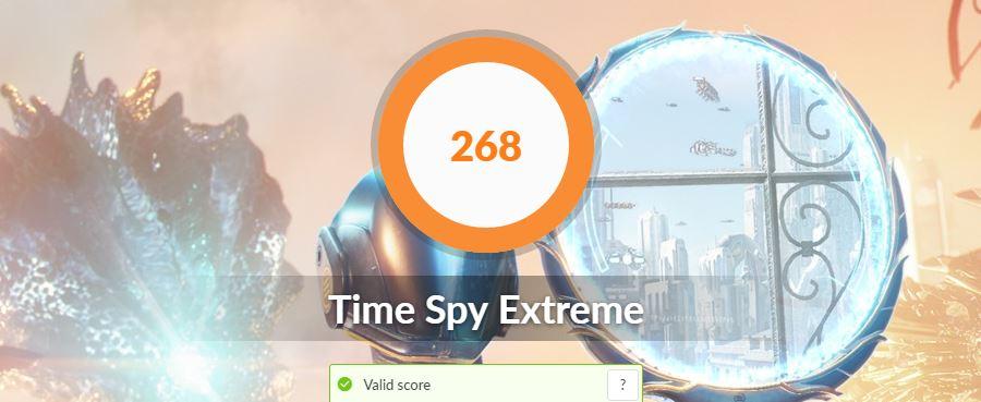 ASUS VivoBook S15 S533FA time spy extreme