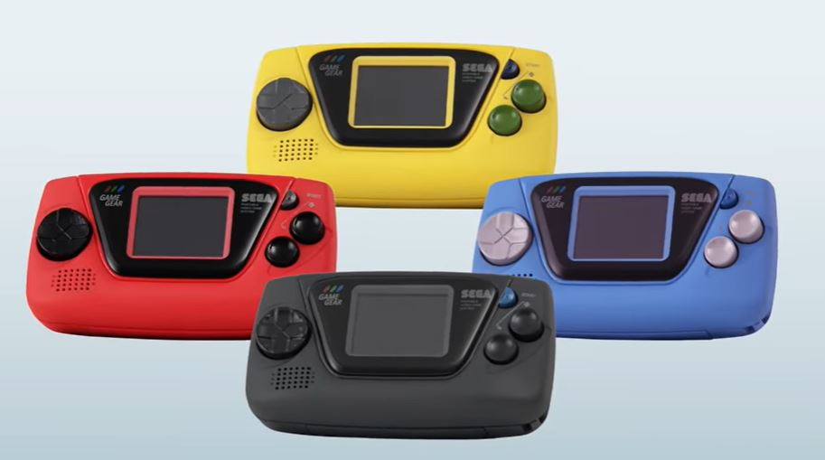 Cute Sega Game Gear Micro costs ~RM195, has 4 variants with 4 games each and is the size a matchbox 1