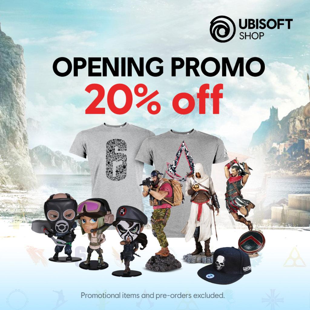 Ubisoft Shopee store