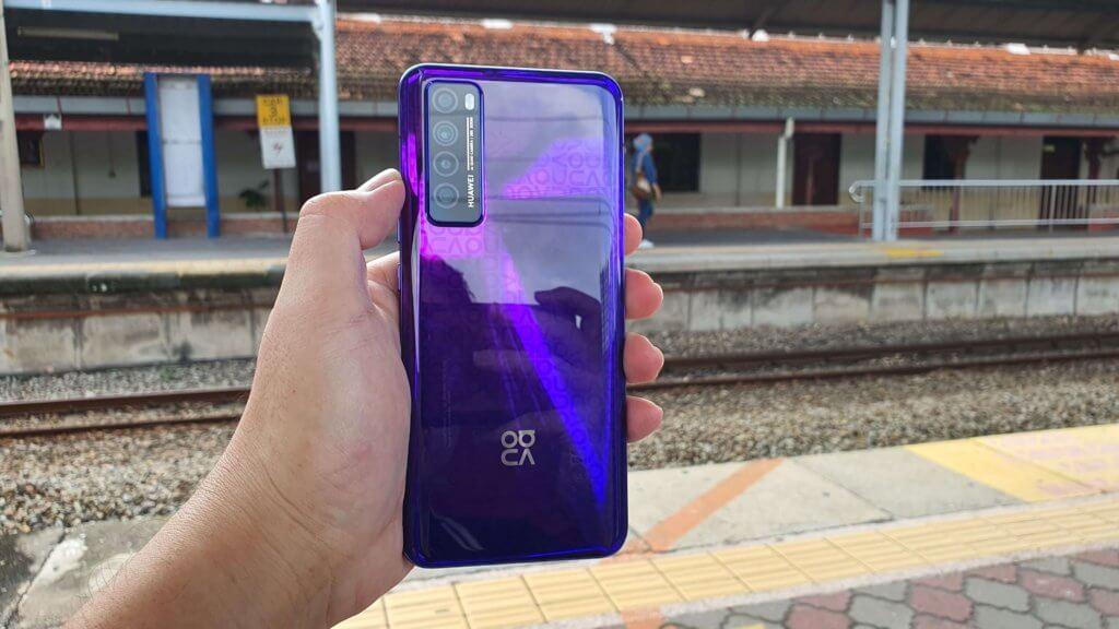 Huawei nova 7 review rear
