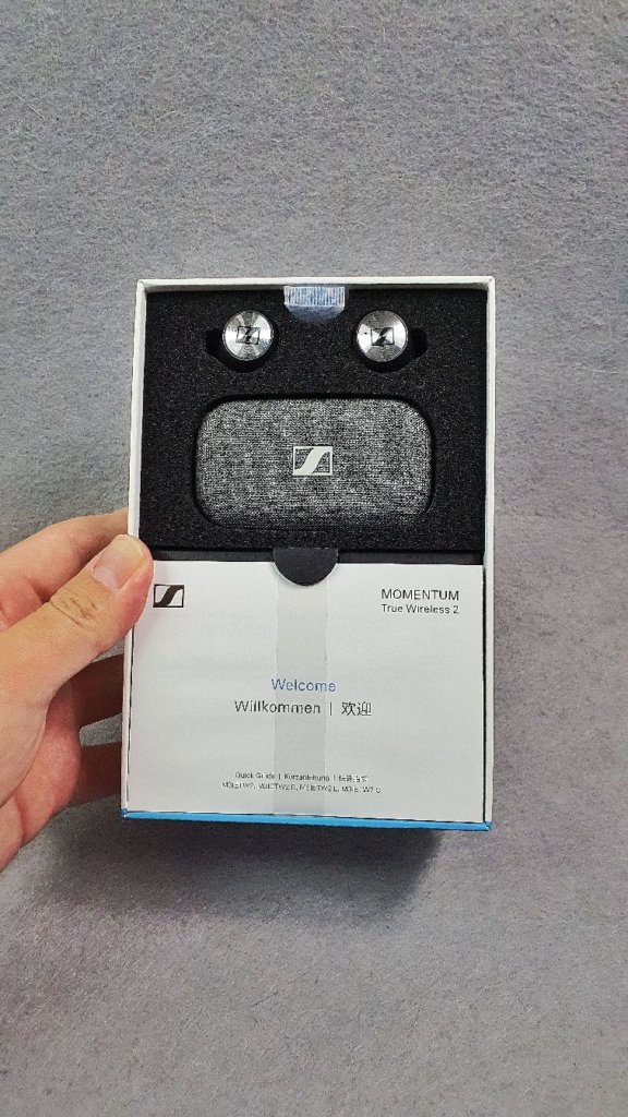 Sennheiser Momentum True Wireless 2 box