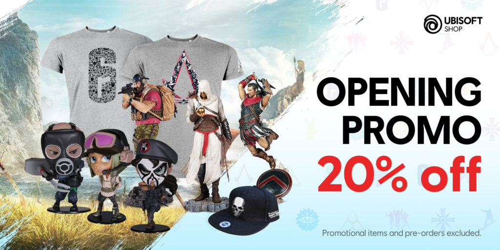 Ubisoft Shopee merch store launches in Malaysia with 20% discounts for a limited time 1