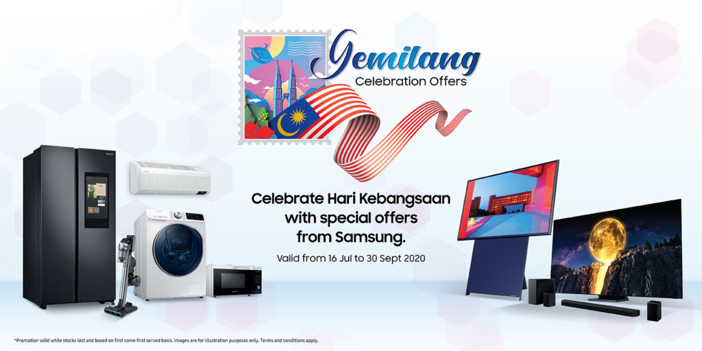 Samsung Gemilang Celebration offers awesome free gifts galore for QLED TVs and more 1