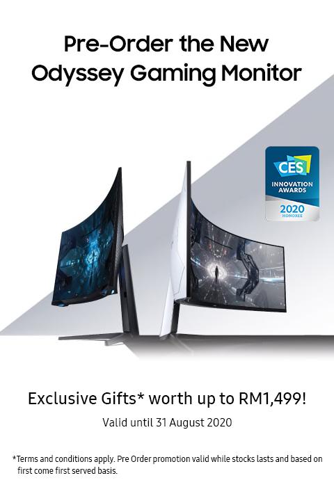 Samsung Odyssey G9  poster