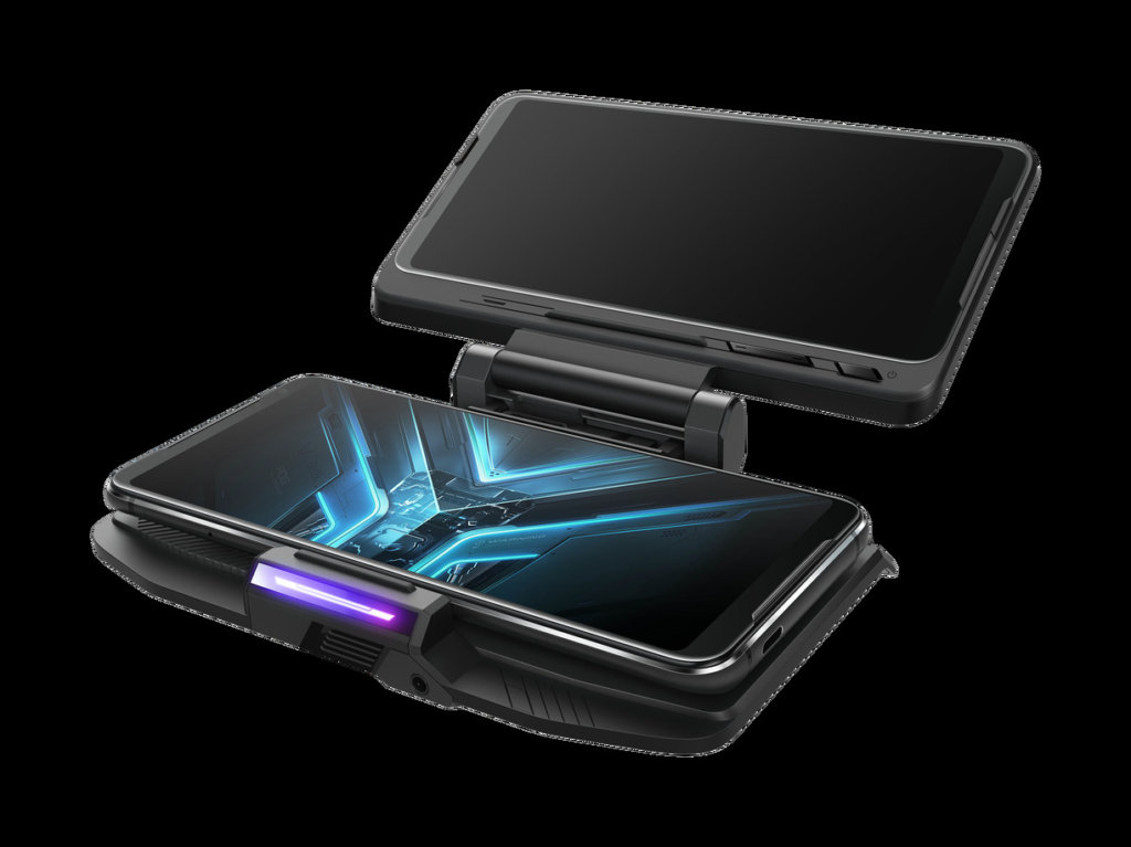 ASUS ROG Phone 3 Price and Availability  Like its predecessors, the ASUS ROG Phone 3 and ROG Phone 3 Strix Edition will come with a bevy of accessories to augment it at launch. Both variants are the same size so they're interchangeable as the only differences are primarily storage and RAM for both variants.  By default, the ROG Phone 3 and ROG Phone 3 Strix Edition will ship with the ROG Aero Case casing that protects it from dings and dents along with a free AeroActive Cooler 3 that has a built-in cooling fan to give it an extra bit of cooling power during intensive gaming sessions.  This time around, they're issuing the Aero case in several different colours versus the standard plain black with a translucent peach finish as one possible colour choice. ROG is also issuing a Kunai gamepad 3 that gives it dimensions akin to a Nintendo Switch and access to D-pads and a gamepad. Alternatively, you can prop the ROG Phone 3 up and just use the Kunai 3 Gamepad on its own like a controller. The phone will also have a TwinView Dock 3 that has a secondary display to give it functionality akin to a Nintendo DS.  At its global announcement, ASUS Malaysia has confirmed that the ROG Phone 3 and the ROG Phone 3 Strix Edition will launch in Malaysia with availability sometime in mid-September with prices similar to when the ROG Phone 2 and ROG Phone 2 Strike launched last year.  At launch in 2019, the ROG Phone 2 Strix edition with 8GB RAM and 128GB storage retailed for RM2,499 and which should be analogous to the ROG Phone Strix Edition with 8GB RAM and 256GB of storage.  The ROG Phone 2 with 12GB RAM and 512GB storage retailed for RM3,499 so the ROG Phone 3 should be very close to this price tag. There will also be an ROG Phone 3 with 16GB RAM and 512GB storage though there's no direct analogue to its predecessors as the priciest version of the ROG Phone 2 that corresponds to it cost RM4,499 and had 12GB RAM with 1TB storage. If we're on the money, this premium version of the RO