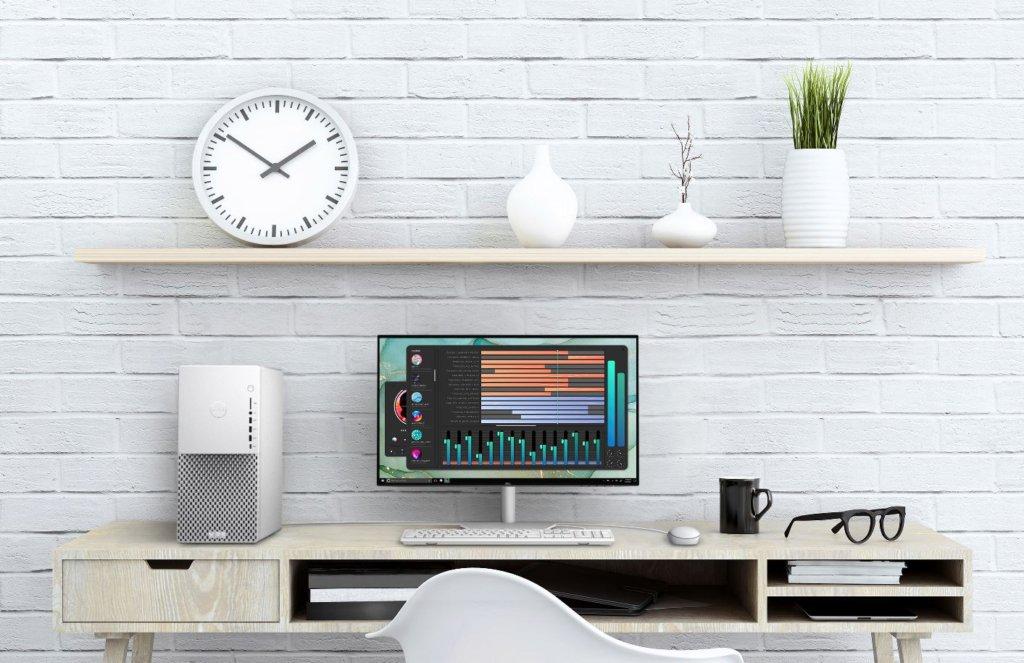 dell xps desktop front