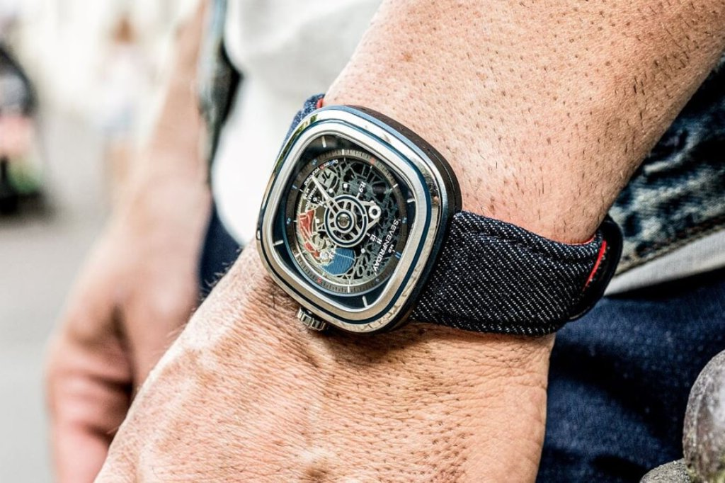 SevenFriday T1/01 Cocorico limited edition timepiece symbolises the bold spirit of France and it's yours for RM4,790 2