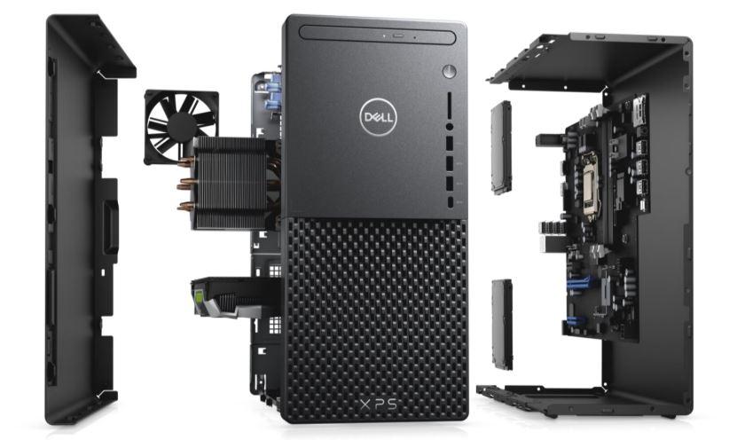 Dell XPS desktop disassembled