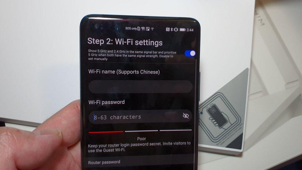 Huawei Wifi ax3 setup