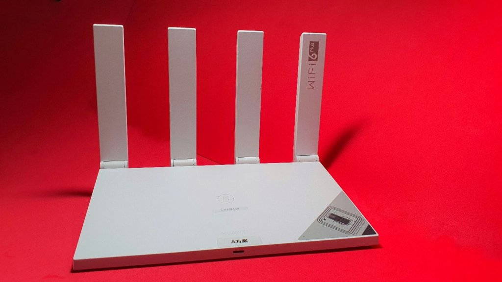 Huawei WiFi AX3 Router  angled